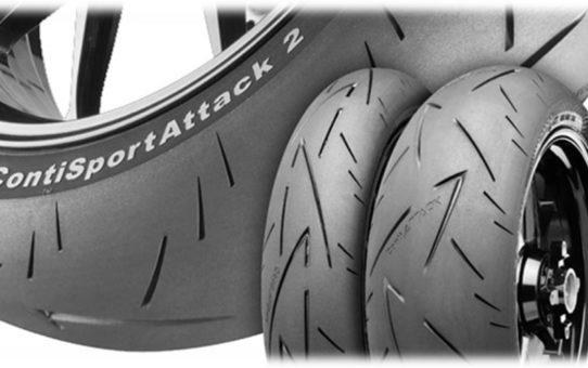 Continental Sport Attack 2 - Pneumatiky pro motocykly