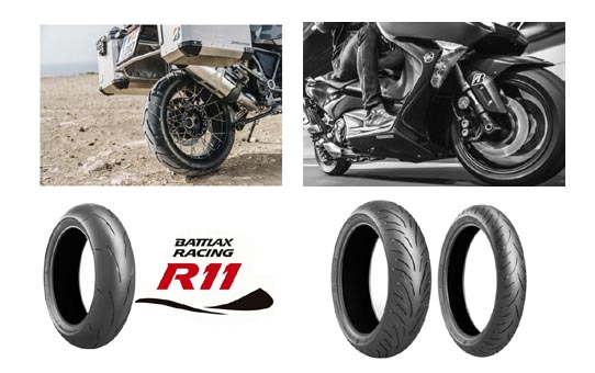 Nové motocyklové pneumatiky Bridgestone Battlax