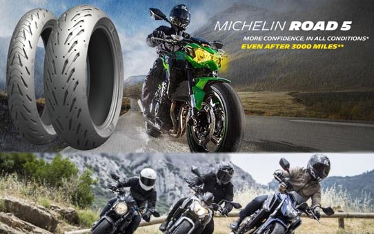 Pneumatiky Michelin Road 5
