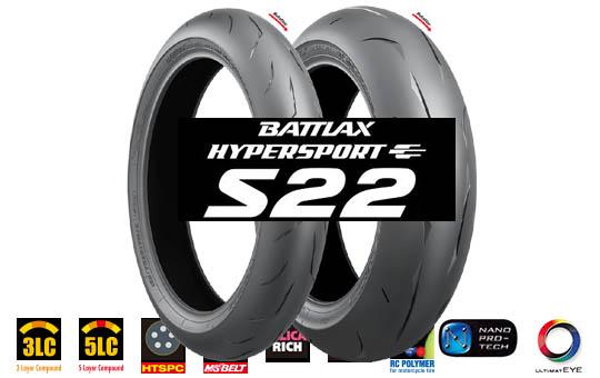 Moto pneumatky Bridgestone s22